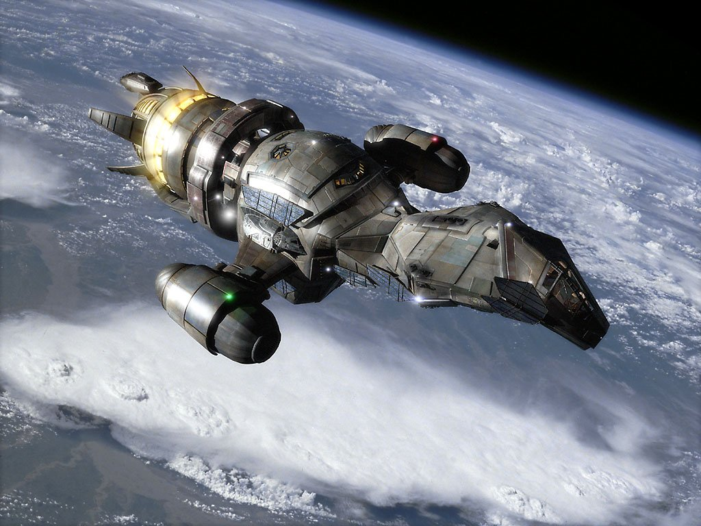 Image result for spaceship in Quiet Serenity