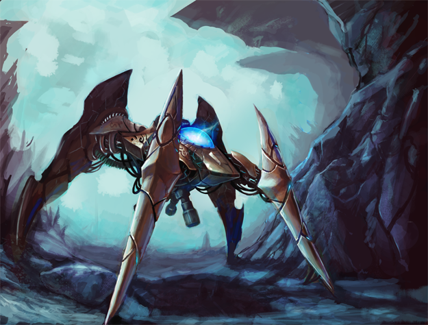 Starcraft Protoss Units Dragoon