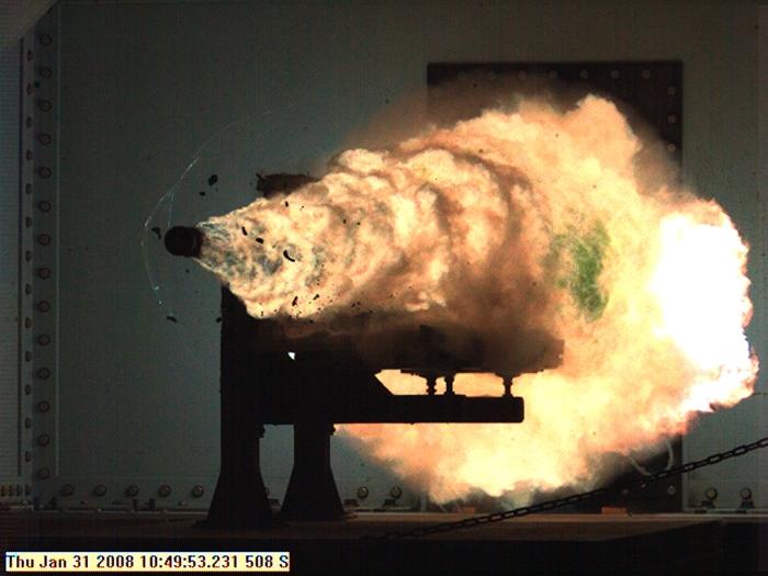 Naval Surface Warfare Center test, January 2008