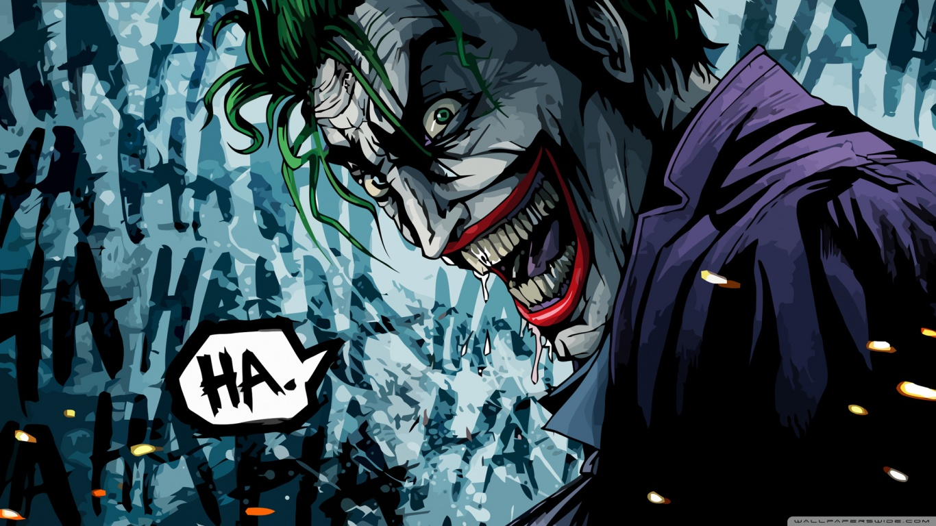 The_joker Wallpaper 1366x768