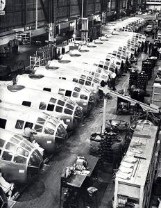 B-29 assembly line