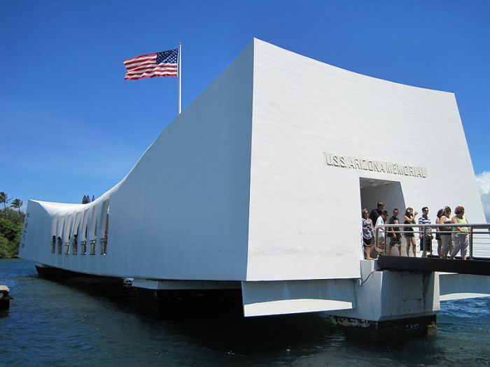USS Arizona Memorial, Peal Harbor