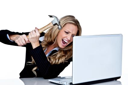 Woman-Smashing-Computer