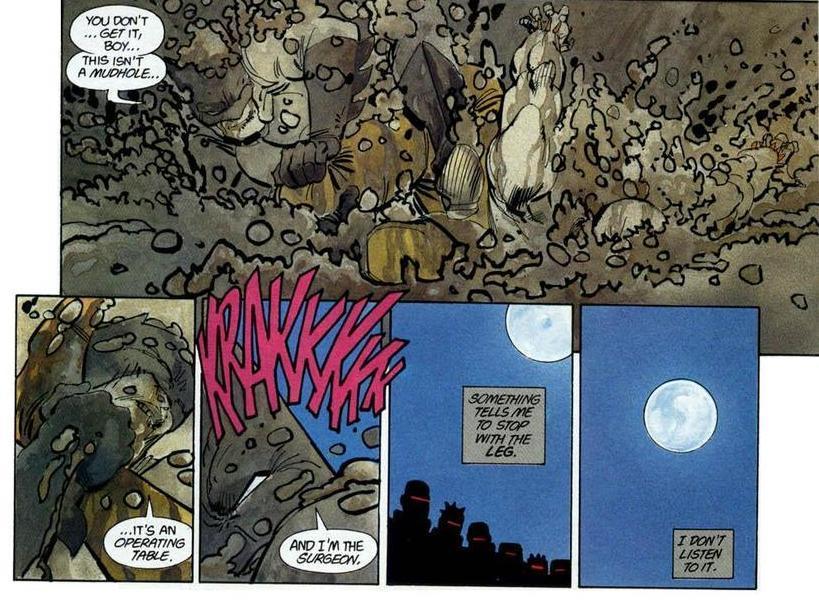 Dark Knight Returns Comic Mutant