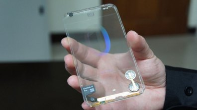 The Future is Here: The Transparent Smartphone and USB Stick