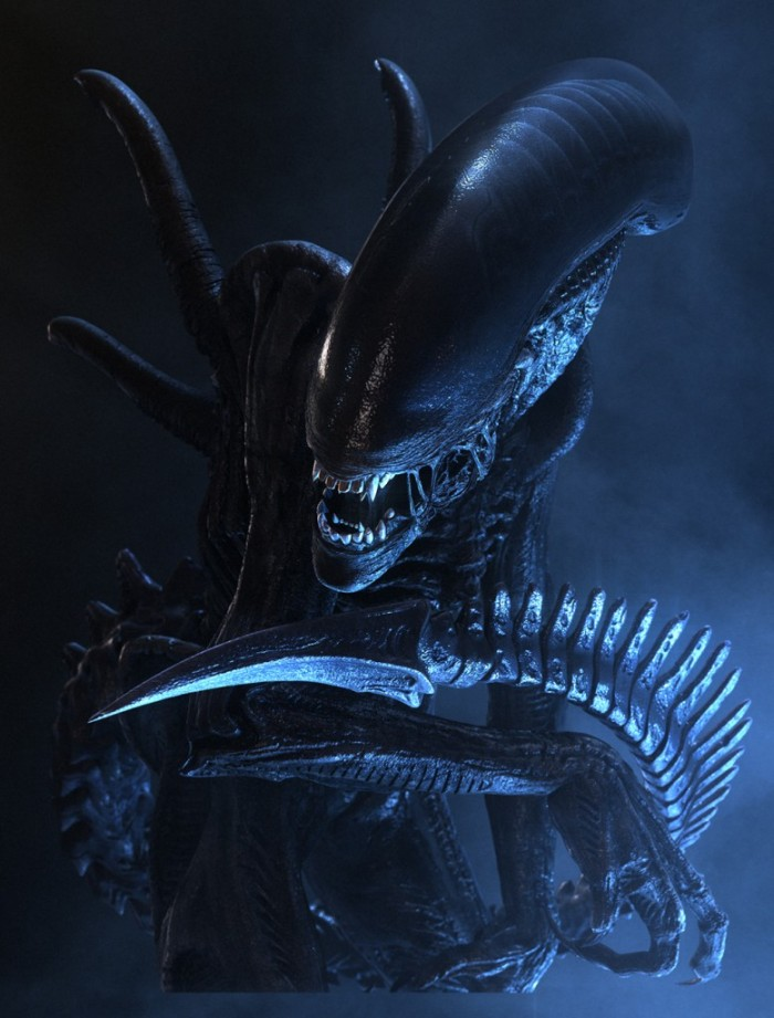 Now here's an alien that doesn't go die so easily!