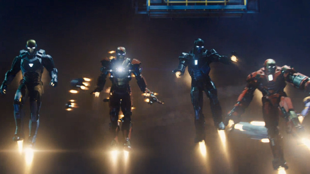 A new theatrical trailer has Iron Man 3 Trailer Gif