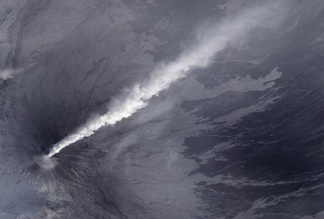 Klyuchevskaya Volcano. NASA Goddard Space Flight Center