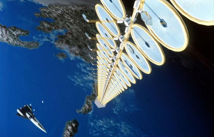 """NASA """"Suntower"""" concept"""