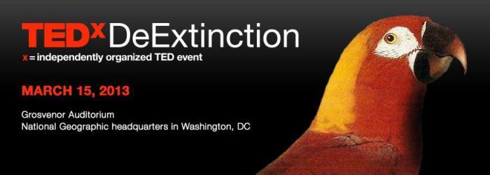 TEDxDeExtinction