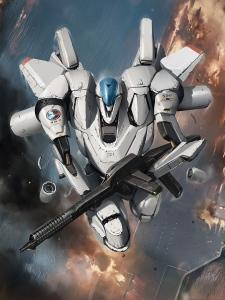 galaxy saga - white gryphon, by ukitakumuki