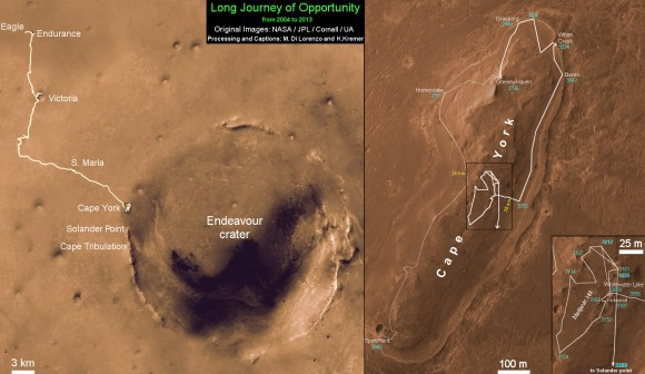 Opportunity-Route-Map_Sol-3309_Ken-Kremer-580x336