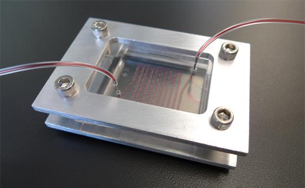 NanoVelcro-device
