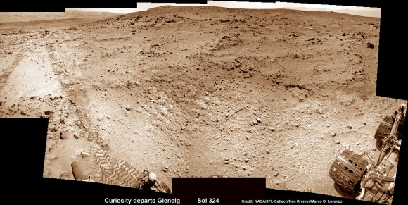 Curiosity-departs-Glenelg-Sol-324_2a_Ken-Kremer--580x291