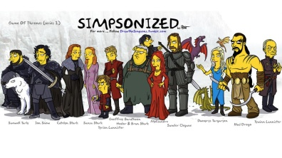 GOT gets the Simpson's Treatment