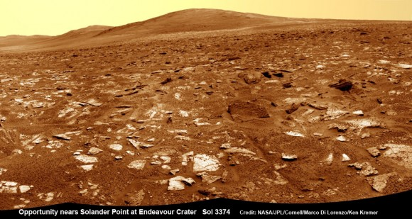 Opportunity-nears-Solander-Point-Sol-3374-N1-crop_Ken-Kremer-580x309