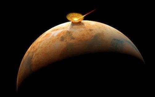 Asteroid-Impacts-Mars