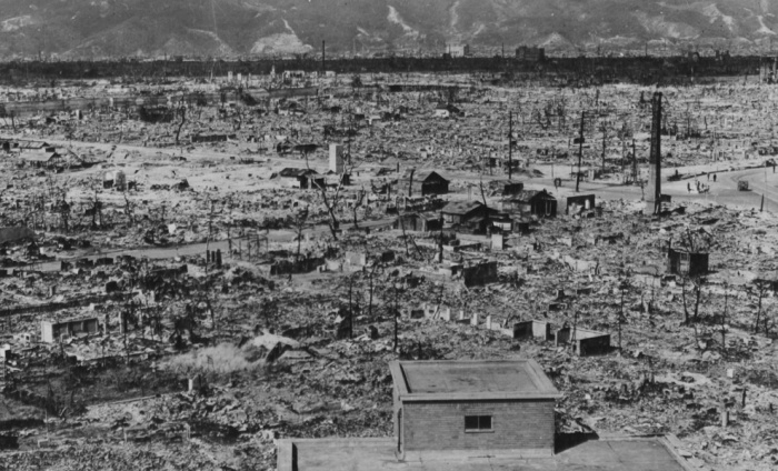 Hiroshima, after the blast