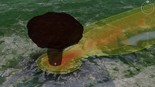 Nukemap 3d bringing nuclear war to your home