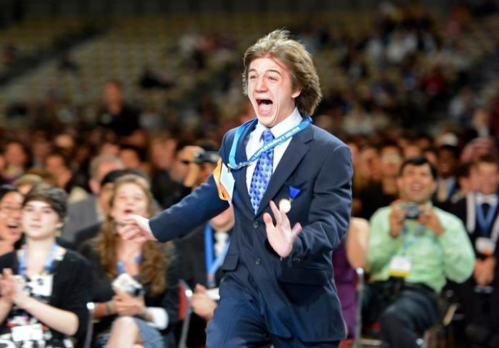 Winning at the 2012 ISEF