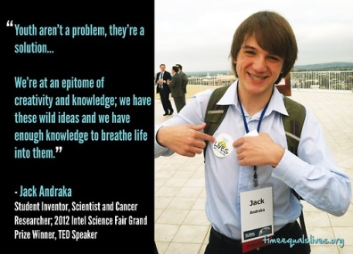 Jack Andraka and I Have a Chat!
