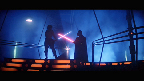 empire strikes back_duel