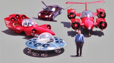 The Future is Here: Crowdfunded Flying Cars!