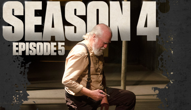 this past week the fifth episode in the walking dead aired and we got