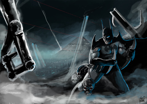 batman vs. terminator