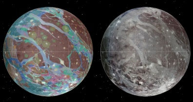 News from Space: First Detailed Map of Ganymede