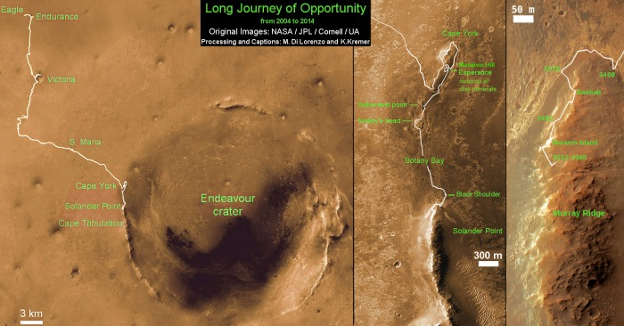Opportunity-Route-map_Sol-3560_Ken-Kremer
