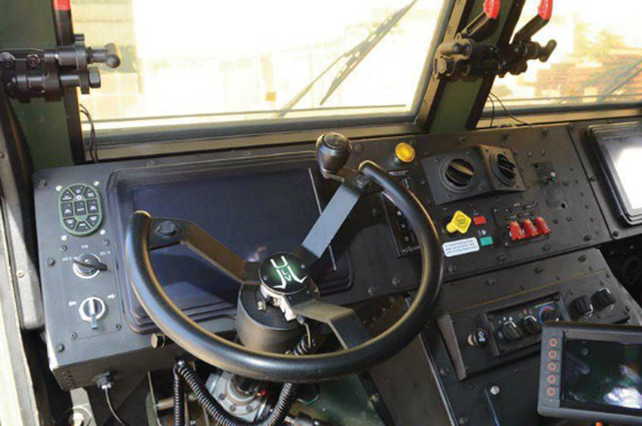 Vehicle Instrument Panel : The future is here driverless army trucks stories by