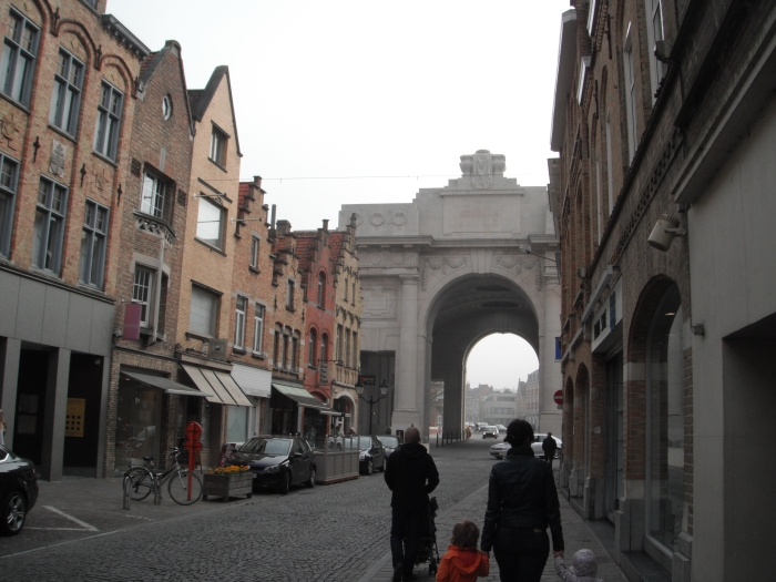 The Mennin Gate, seen from the street