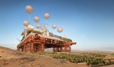Climate Crisis: Terraforming the Desert