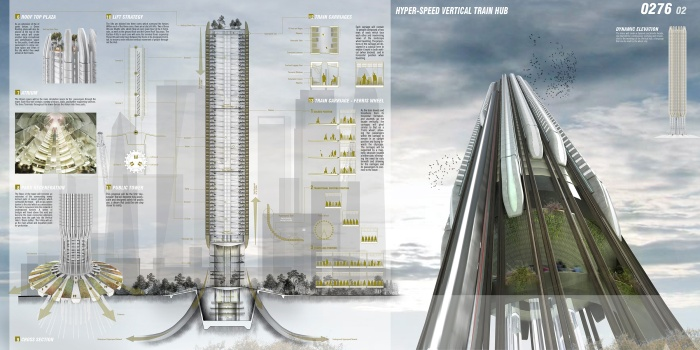 Verticle_train_skyscraper
