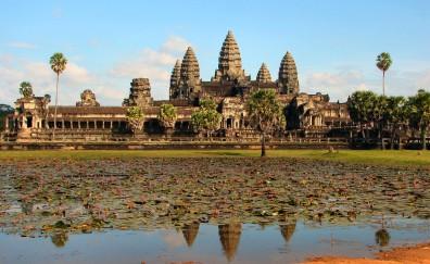 New Technique Reveals Angkor Wat's Hidden Art