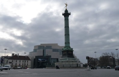 Bastille Square and the July Column