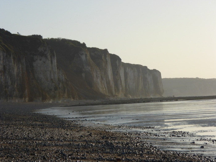 The cliffs of Dieppe