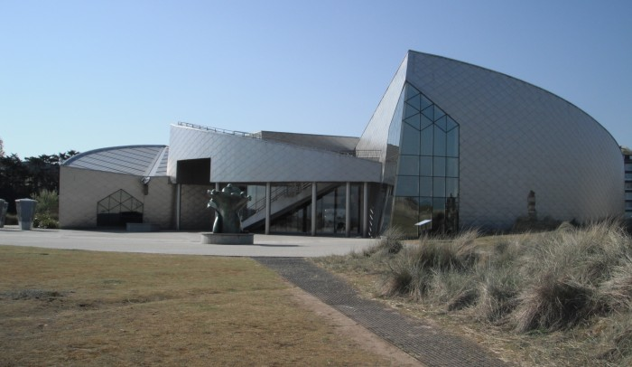 Juno Beach Centre, front entrance