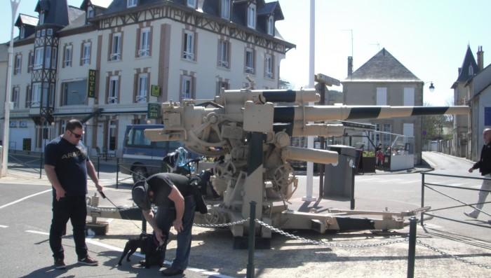 German Flak 18 88mm cannon
