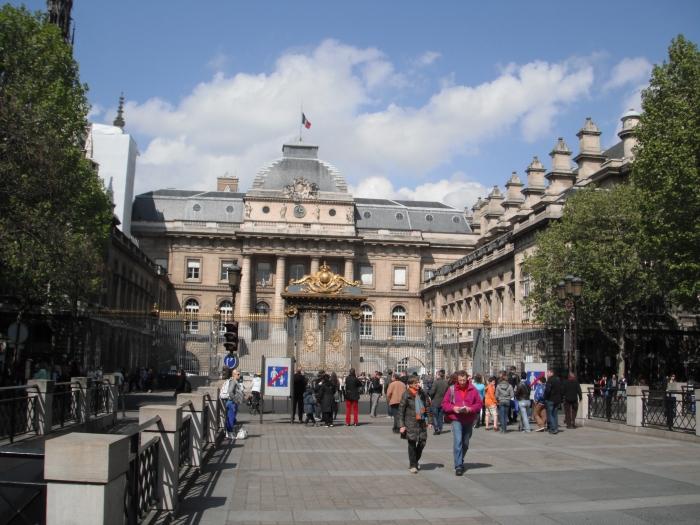 The Palais de Justice