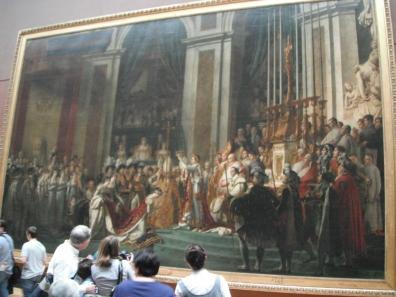 The consecration of Emperor Napoleon I