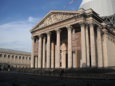 Pantheon, front entrance