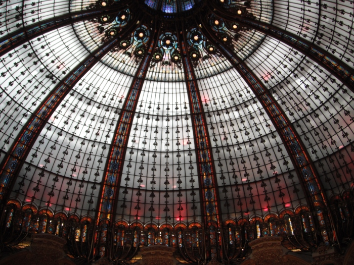 Galleries Lafayette, domed ceiling