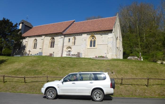 The Church at Grangues