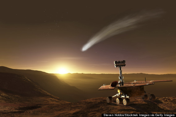 MARS-COMET-surface