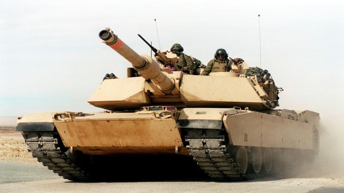 American M1 Abrams MBT
