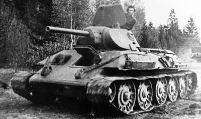 Russian T-34/76 in World War II