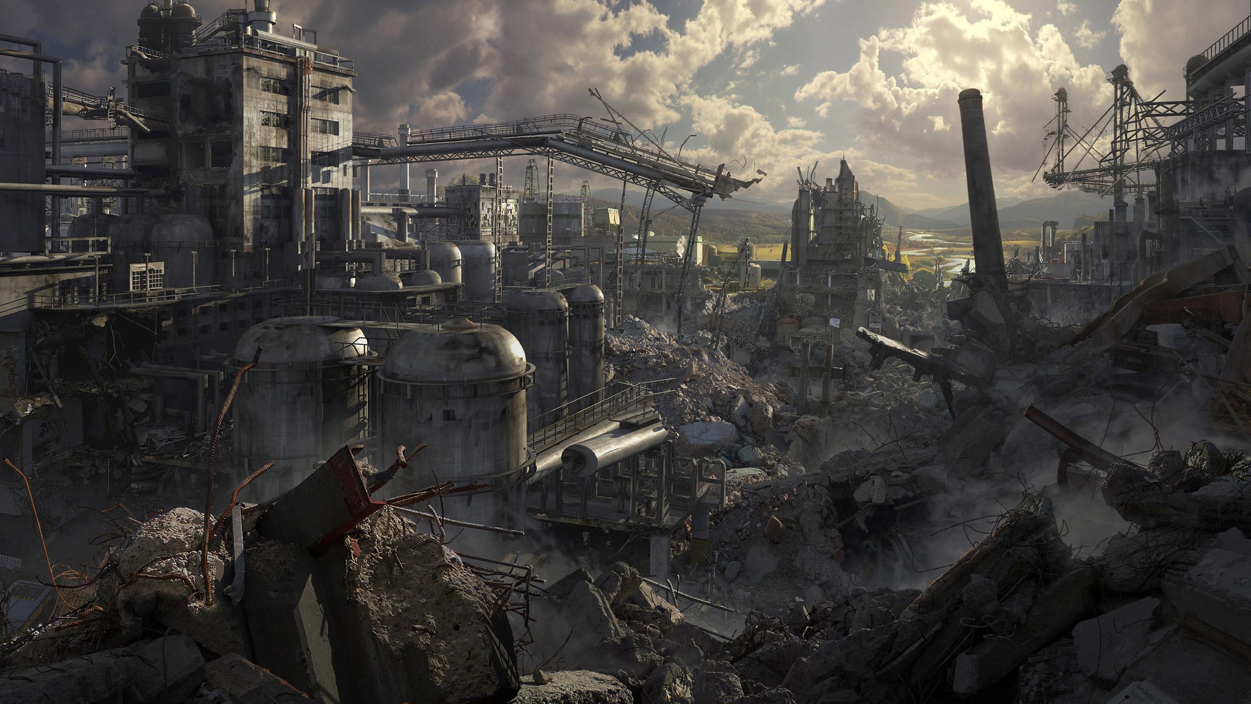 Nuclear war fallen misdirected gogo shag 7