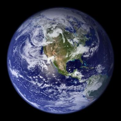 Our watery Earth. Credit: NASA